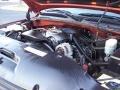 2001 Sunset Orange Metallic Chevrolet Silverado 1500 LS Extended Cab 4x4  photo #48