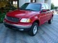 Bright Red 2003 Ford F150 Lariat SuperCrew 4x4