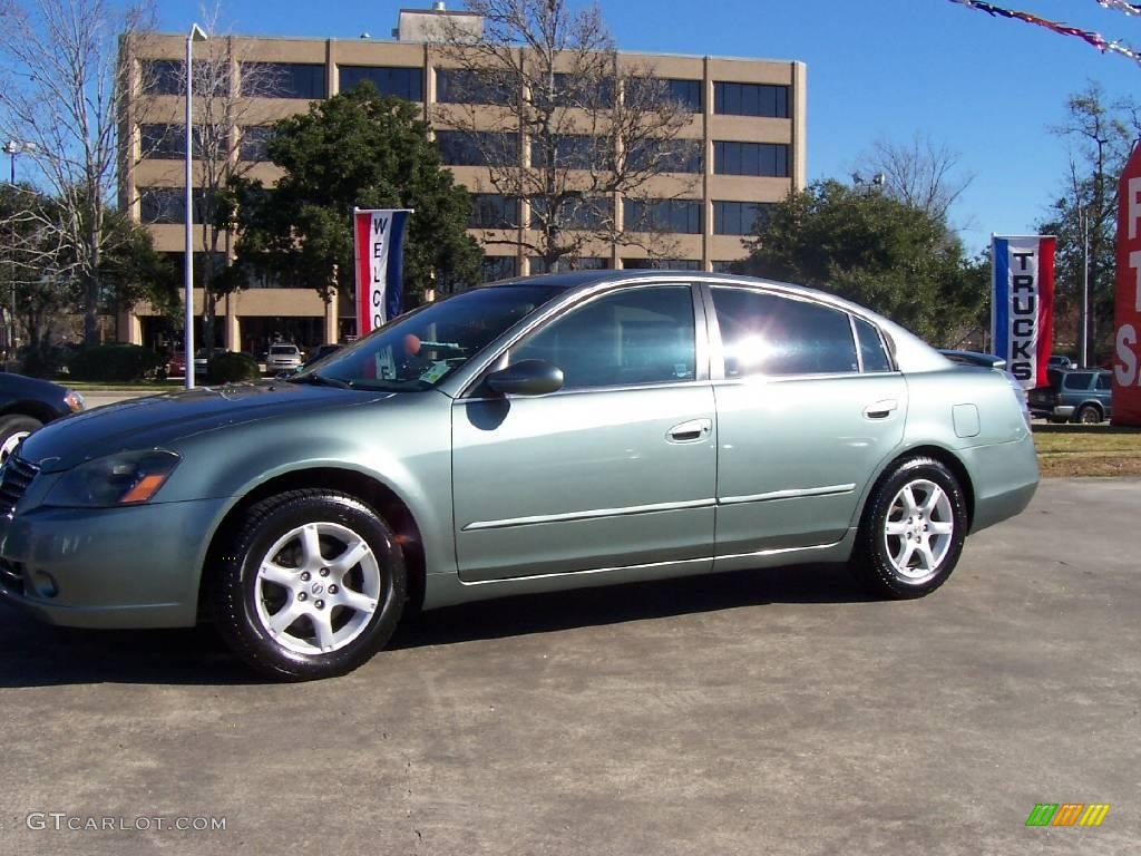 2005 Mystic Emerald Green Nissan Altima 2 5 S 24142055