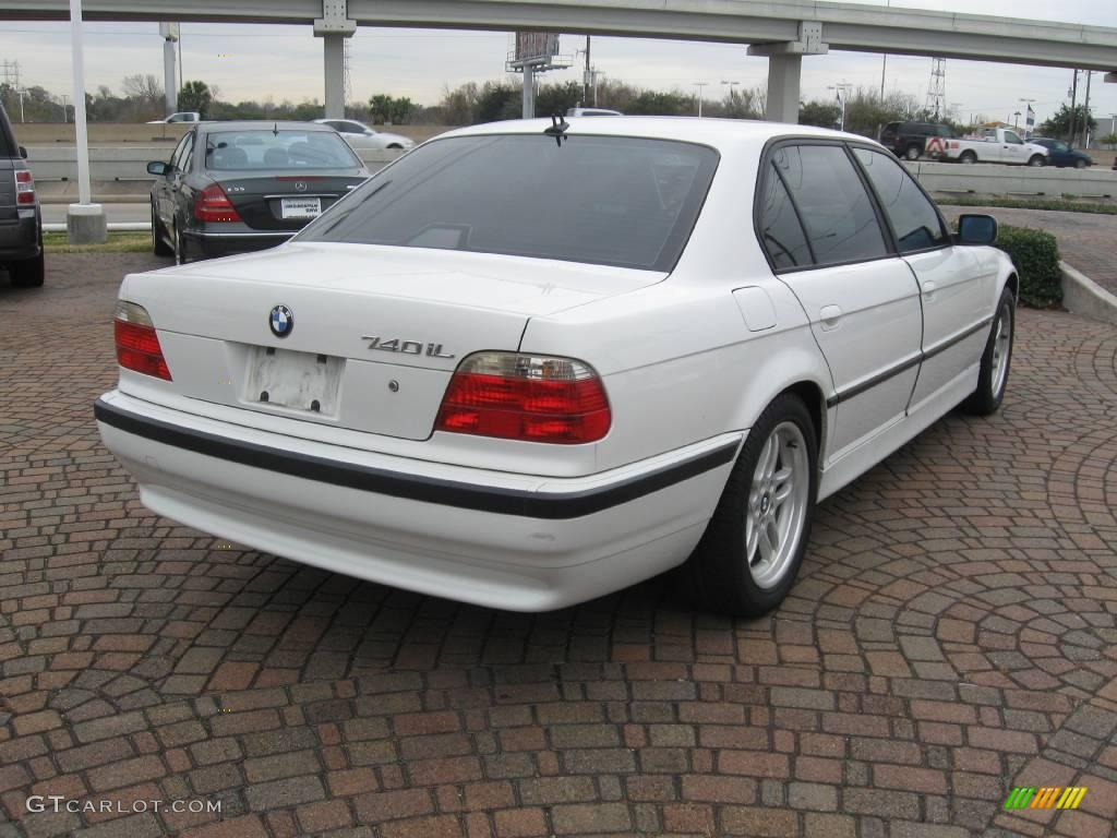The Bmw G11 740i Mineral White Exclusive Leather Na With