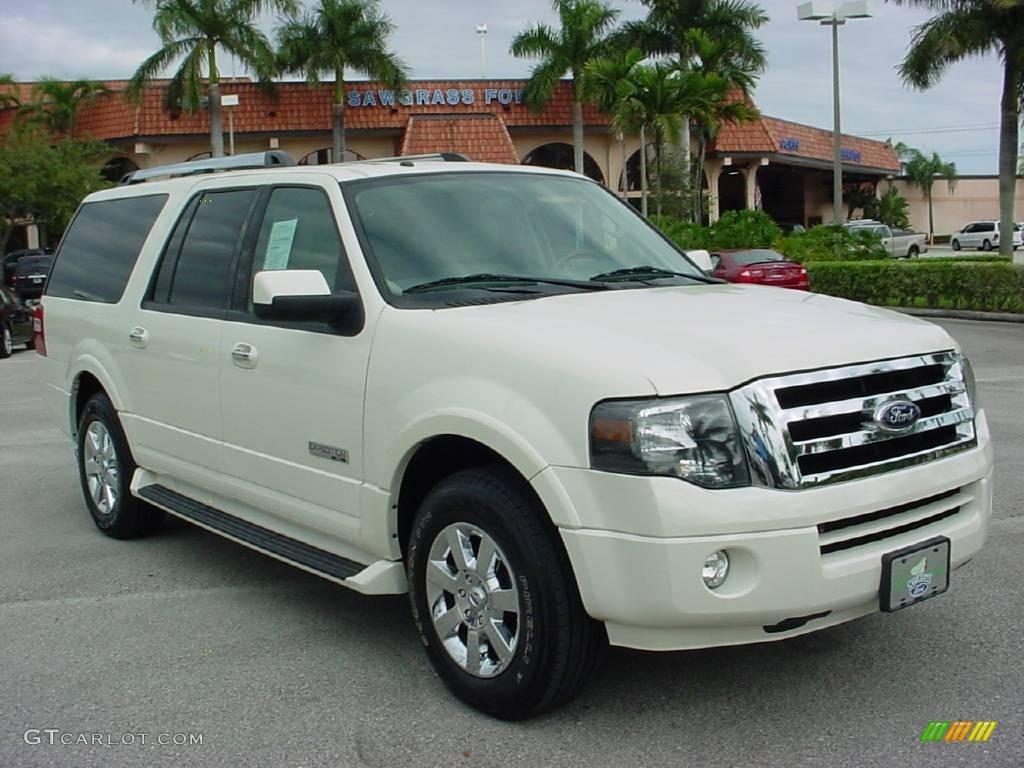 2007 white sand tri coat metallic ford expedition el limited 24191995 car. Black Bedroom Furniture Sets. Home Design Ideas