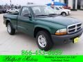 2004 Timberline Green Pearl Dodge Dakota SXT Regular Cab #24198449