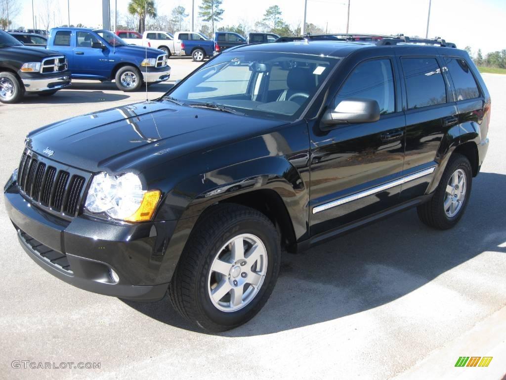2010 brilliant black crystal pearl jeep grand cherokee laredo