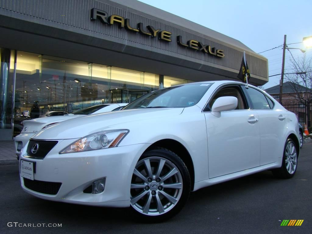 2008 starfire white pearl lexus is 250 awd 2425303. Black Bedroom Furniture Sets. Home Design Ideas
