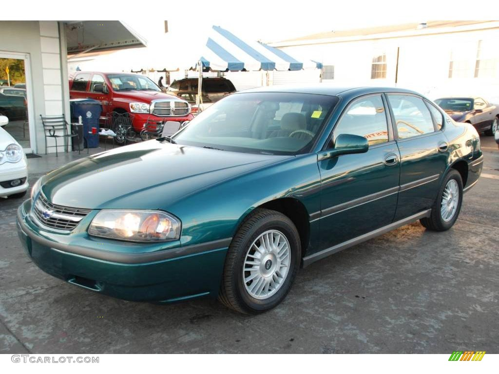 2000 dark jade green metallic chevrolet impala 24264895 photo 12 car color. Black Bedroom Furniture Sets. Home Design Ideas