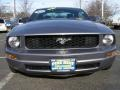 2007 Tungsten Grey Metallic Ford Mustang V6 Deluxe Coupe  photo #2