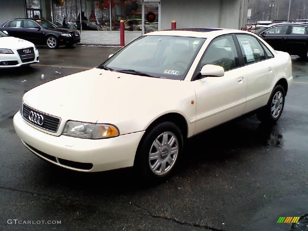 1998 Pearl White Pearlescent Audi A4 1 8t Quattro Sedan 24316082 Gtcarlot Com Car Color
