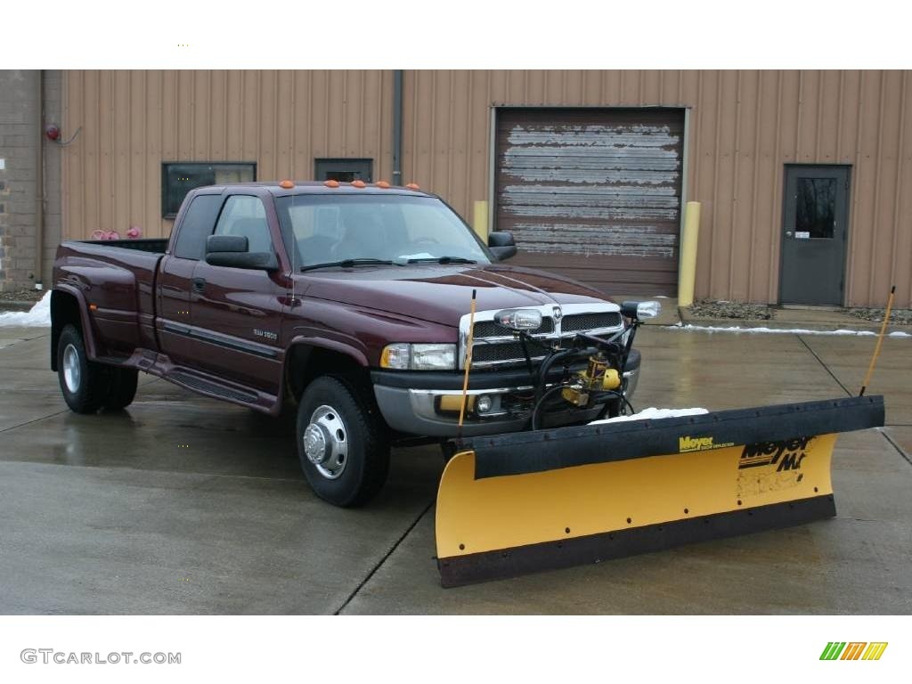 2002 Dark Garnet Red Pearlcoat Dodge Ram 3500 Slt Quad Cab ...