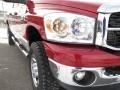 2007 Inferno Red Crystal Pearl Dodge Ram 3500 SLT Mega Cab 4x4  photo #4