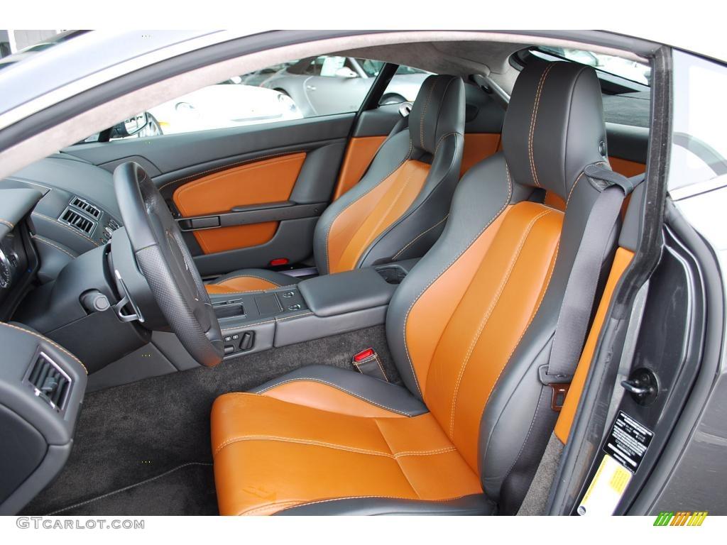 Phantom Gray Kestrel Tan Interior 2007 Aston Martin V8 Vantage Coupe Photo 24353455 Gtcarlot Com