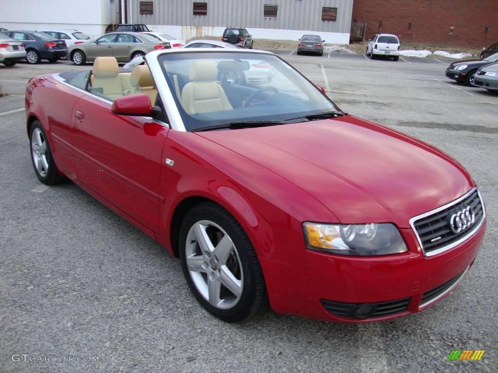 2005 amulet red audi a4 3 0 quattro cabriolet 24354712 photo 4 car color. Black Bedroom Furniture Sets. Home Design Ideas