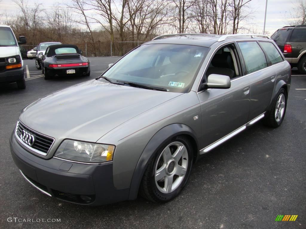 2005 Atlas Gray Metallic Audi Allroad 2 7t Quattro