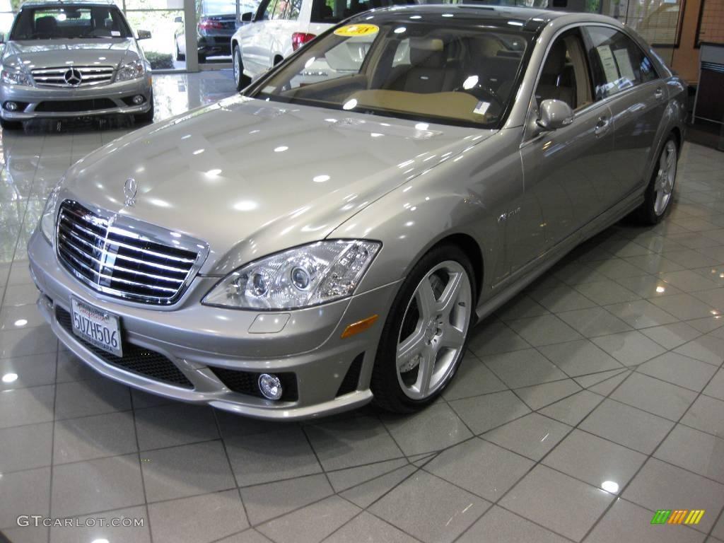 2008 pewter metallic mercedes benz s 65 amg sedan for Mercedes benz color
