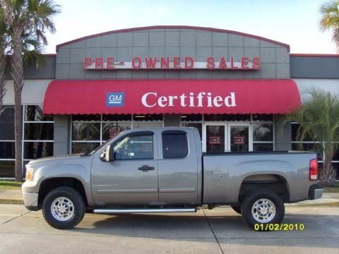 2007 GMC Sierra 2500HD SLE Extended Cab Data, Info and Specs