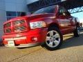 2002 Flame Red Dodge Ram 1500 Sport Quad Cab  photo #1