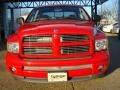 2002 Flame Red Dodge Ram 1500 Sport Quad Cab  photo #9