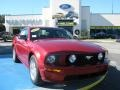 2007 Redfire Metallic Ford Mustang GT Premium Coupe  photo #1