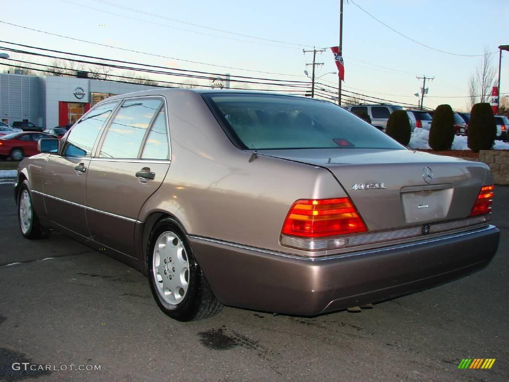 1993 s class 400 sel brown metallic parchment photo 3