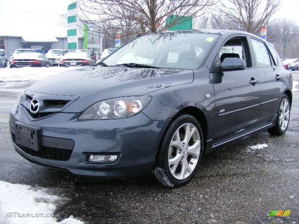 2009 metropolitan gray mica mazda mazda3 s grand touring. Black Bedroom Furniture Sets. Home Design Ideas