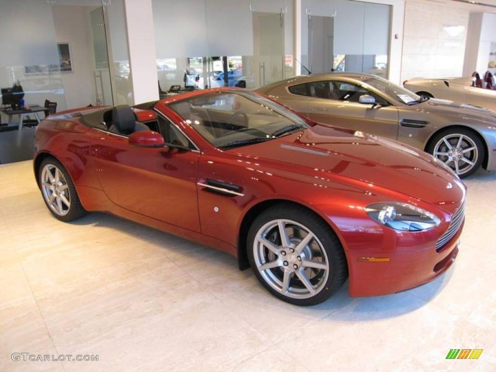 2007 Toro Red Aston Martin V8 Vantage Roadster 2431564 Photo 5 Gtcarlot Com Car Color Galleries
