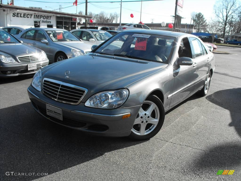 2004 granite grey metallic mercedes benz s 430 sedan for Mercedes benz s 430