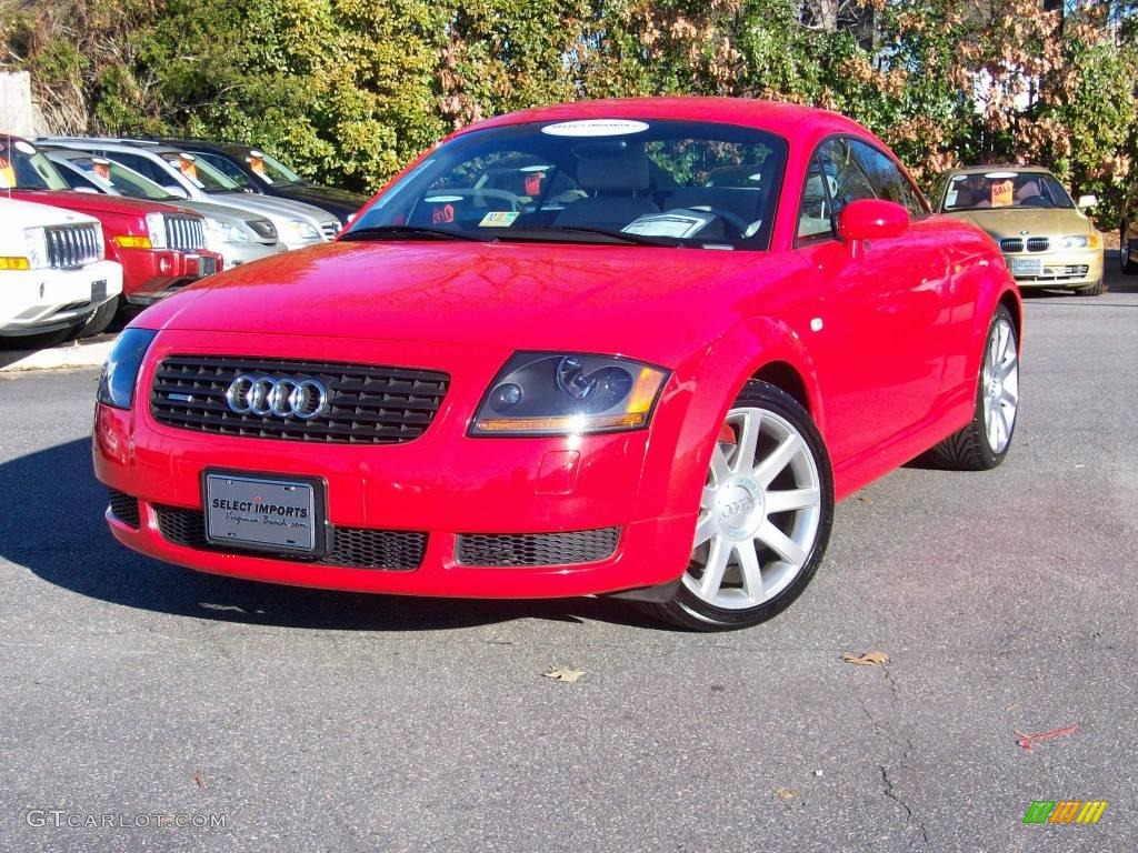 2002 amulet red audi tt 1 8t quattro coupe 2431300 car color galleries. Black Bedroom Furniture Sets. Home Design Ideas