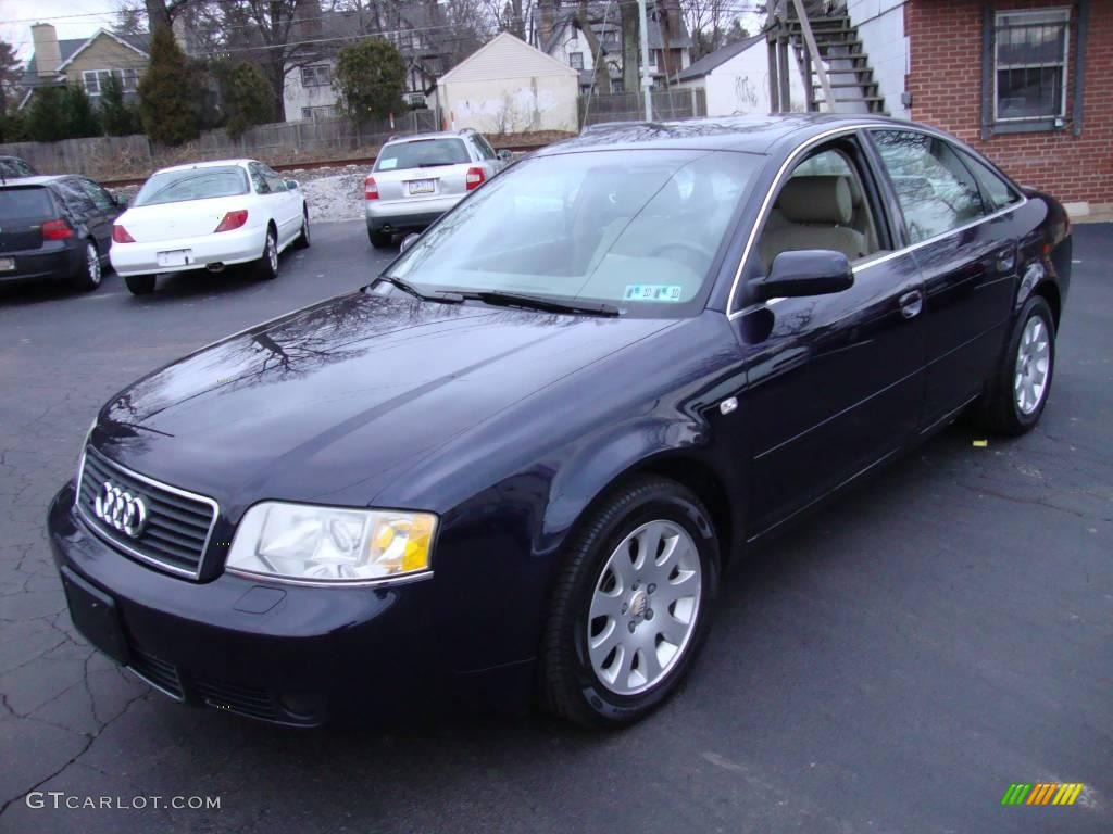 2002 ming blue pearl audi a6 3 0 quattro sedan 24436649 car color galleries. Black Bedroom Furniture Sets. Home Design Ideas