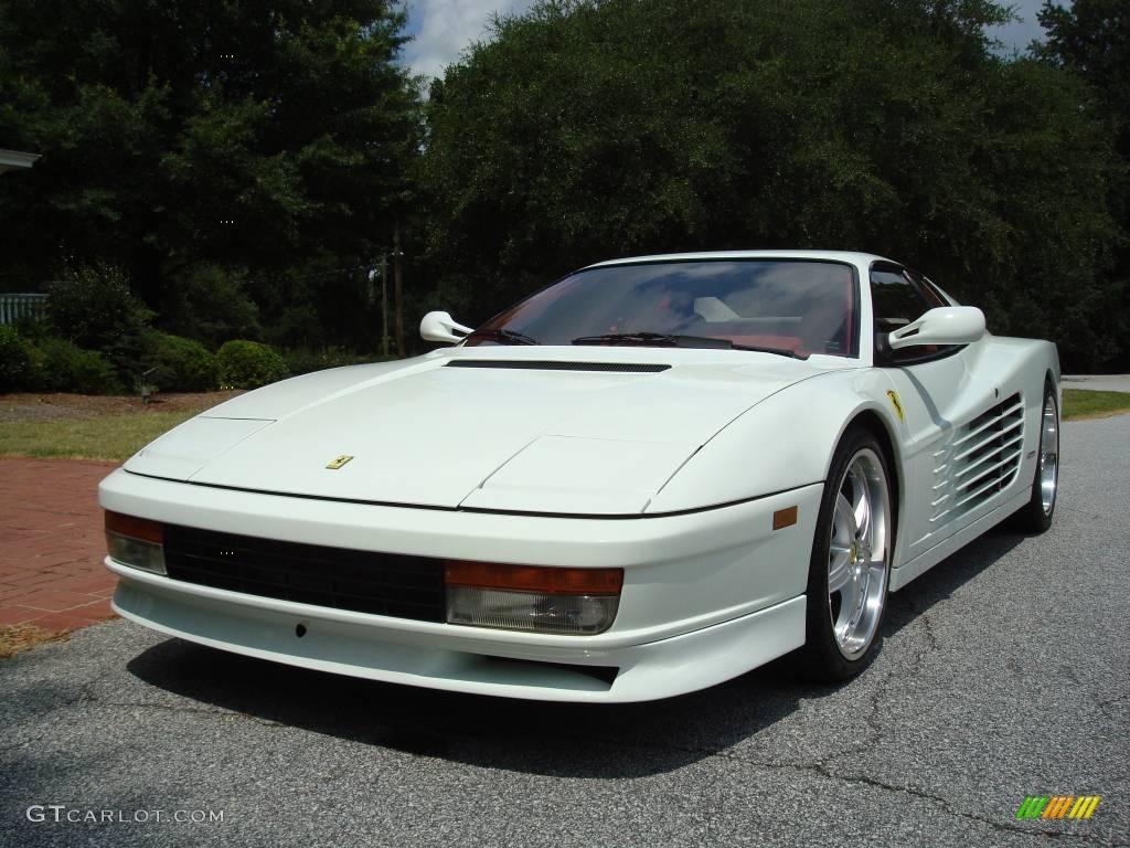Bianco white 1991 ferrari testarossa standard testarossa model bianco white 1991 ferrari testarossa standard testarossa model exterior photo 24443811 vanachro Images