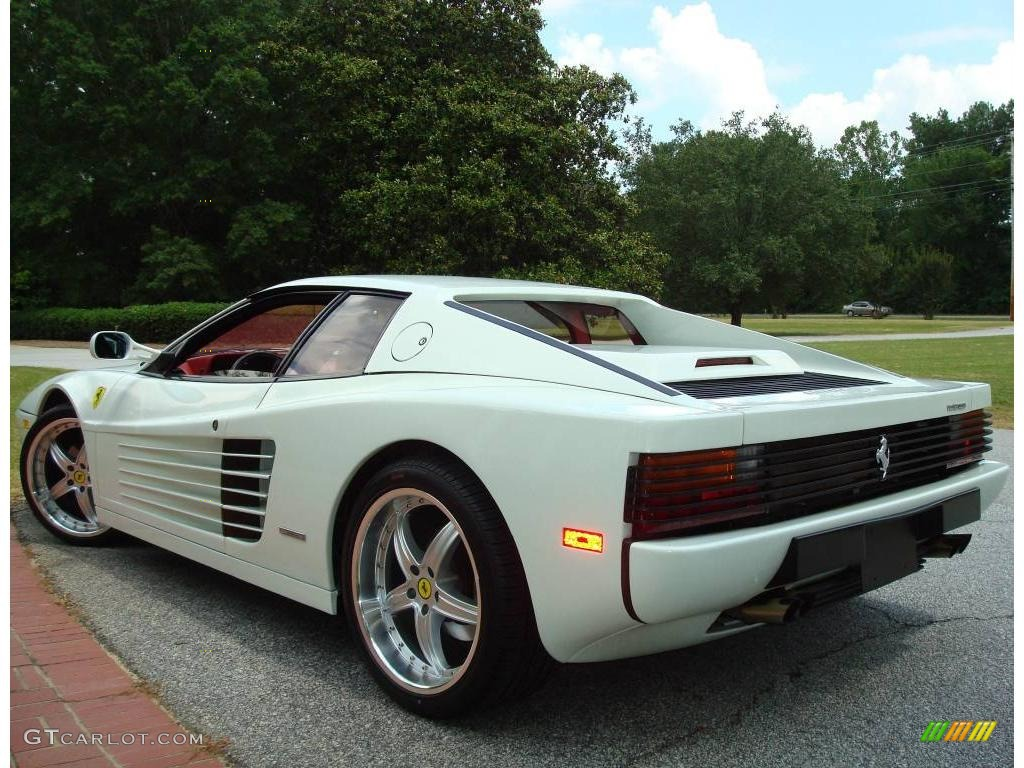 1991 Bianco White Ferrari Testarossa 24436556 Photo 9