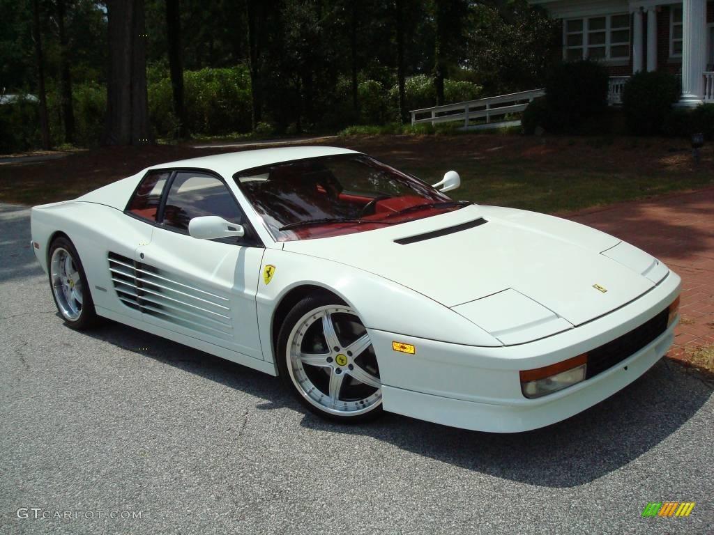 1991 bianco white ferrari testarossa 24436556 photo 60 1991 testarossa bianco white rosso photo 60 vanachro Images
