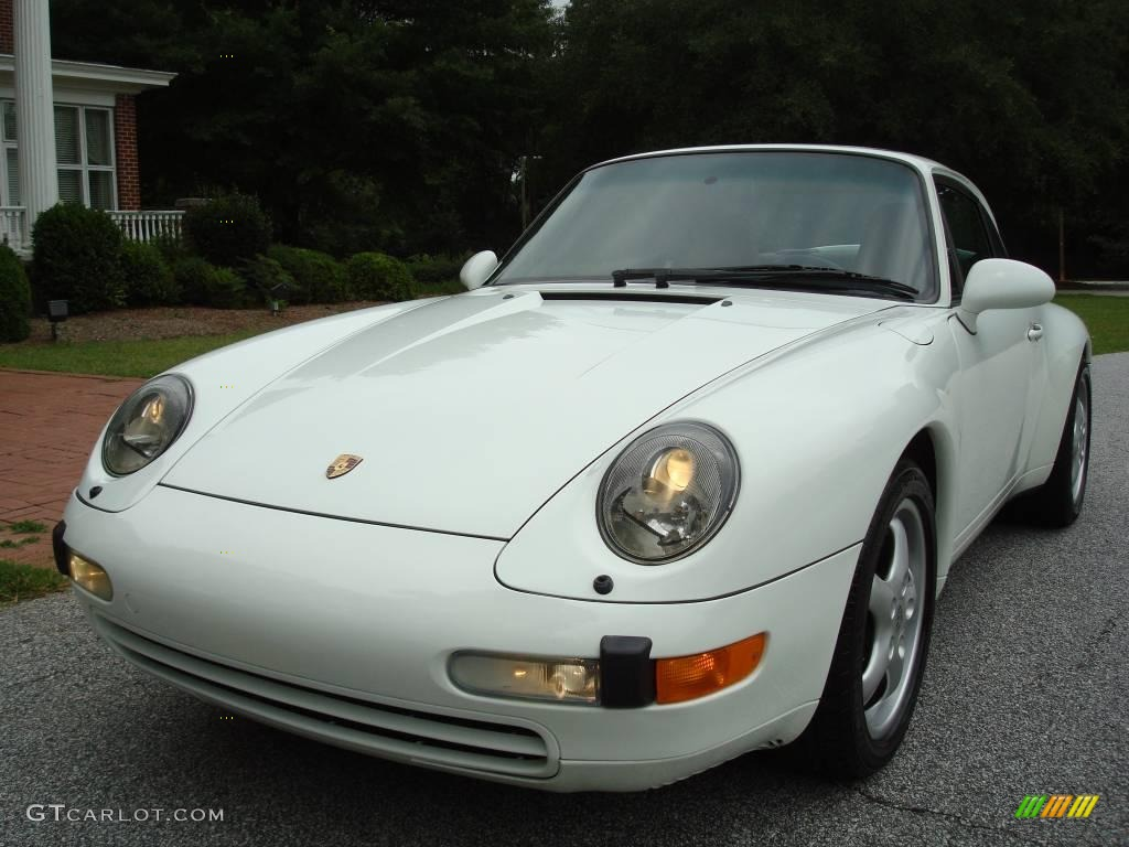 1995 grand prix white porsche 911 carrera coupe 24436559 car color galleries. Black Bedroom Furniture Sets. Home Design Ideas