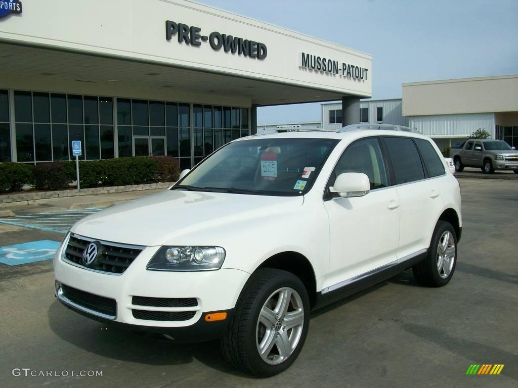 2007 campanella white volkswagen touareg v8 24436446. Black Bedroom Furniture Sets. Home Design Ideas