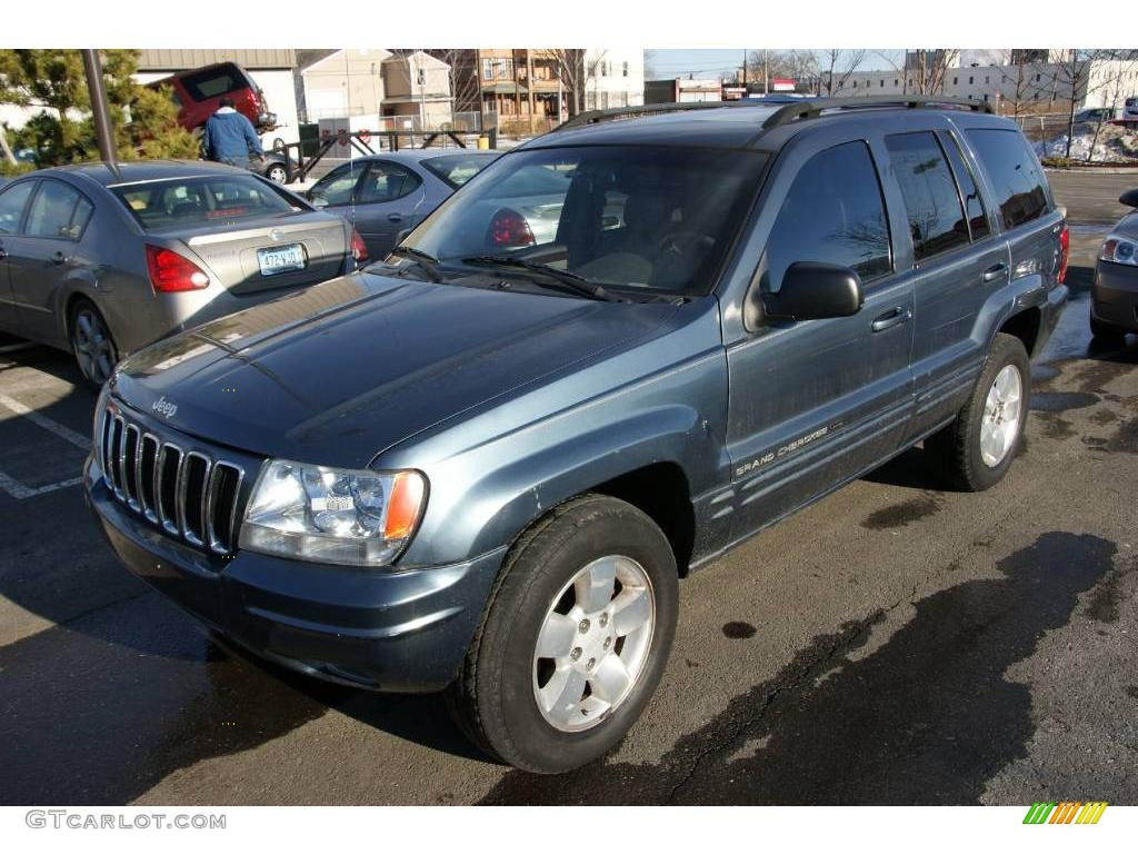 2001 Jeep Grand Cherokee Motor 2001 Steel Blue Pearl Jeep Grand Cherokee Limited 4x4 ...