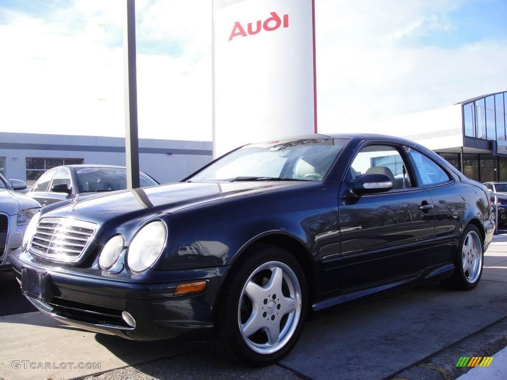2001 Black Opal Metallic Mercedes Benz Clk 430 Coupe