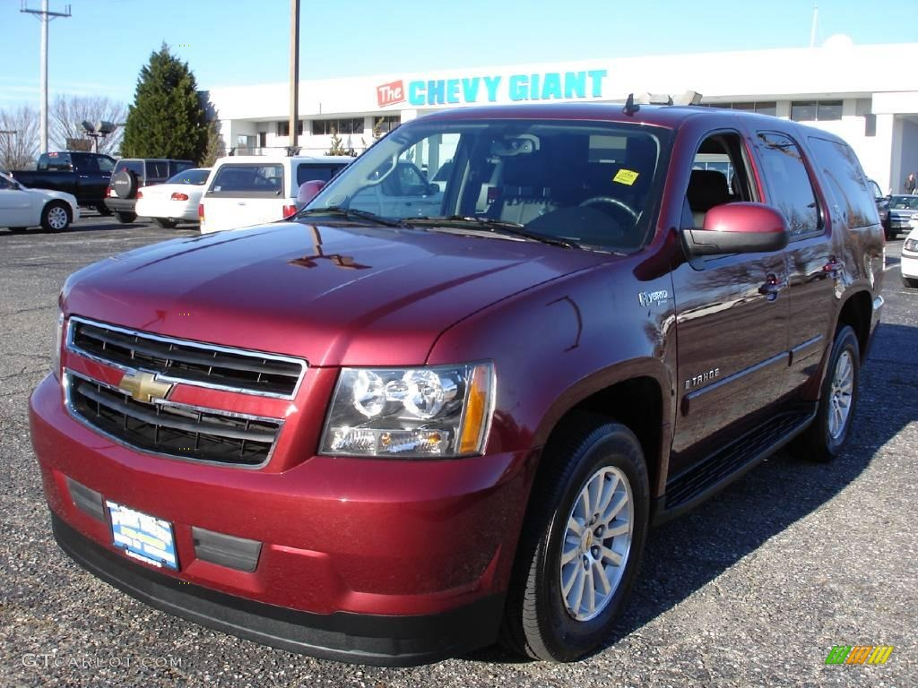 2009 Deep Ruby Red Metallic Chevrolet Tahoe Hybrid 4x4 24436320