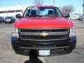 2009 Victory Red Chevrolet Silverado 1500 Regular Cab  photo #2