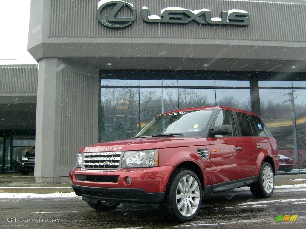 2006 Rimini Red Metallic Land Rover Range Rover Sport ...