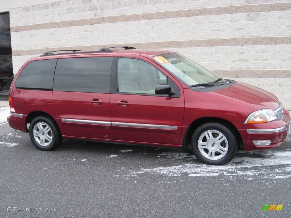 2003 matador red metallic ford windstar se 24493613 car color galleries. Black Bedroom Furniture Sets. Home Design Ideas