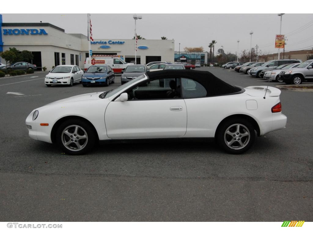 1999 super white toyota celica gt convertible 24492919. Black Bedroom Furniture Sets. Home Design Ideas