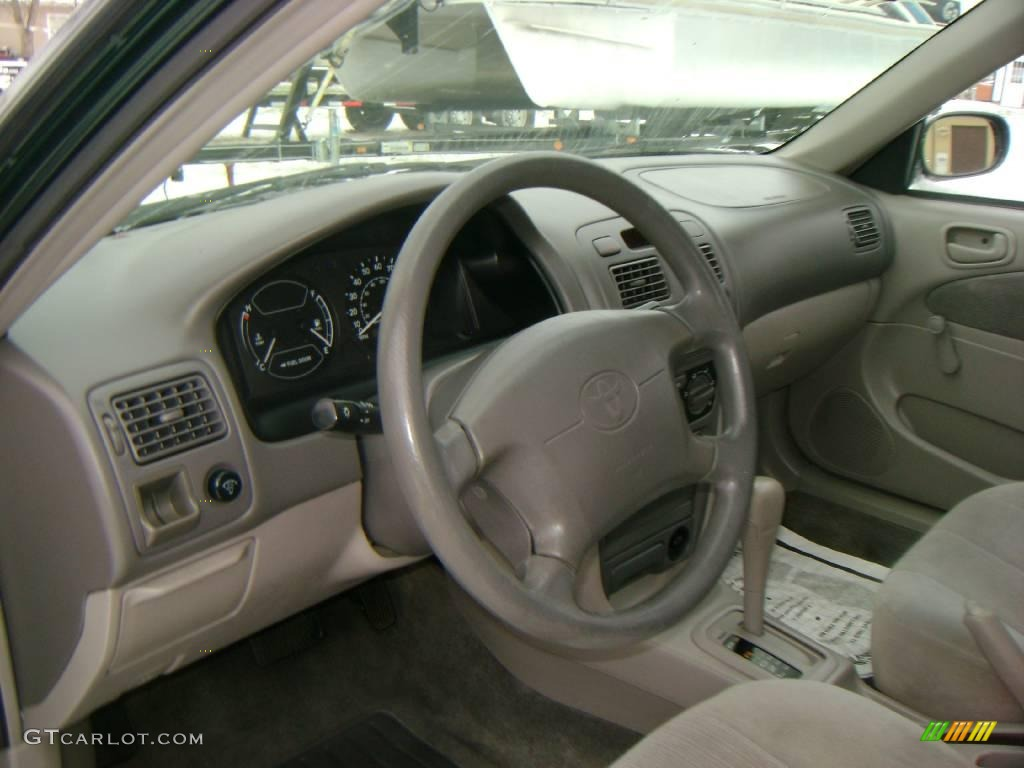 2001 Woodland Green Pearl Toyota Corolla Ce 24493004 Photo 11 Car Color Galleries