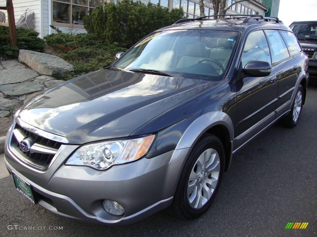 2008 diamond gray metallic subaru outback 3 0r l l bean. Black Bedroom Furniture Sets. Home Design Ideas
