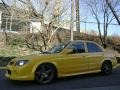 Vivid Yellow 2003 Mazda Protege MAZDASPEED