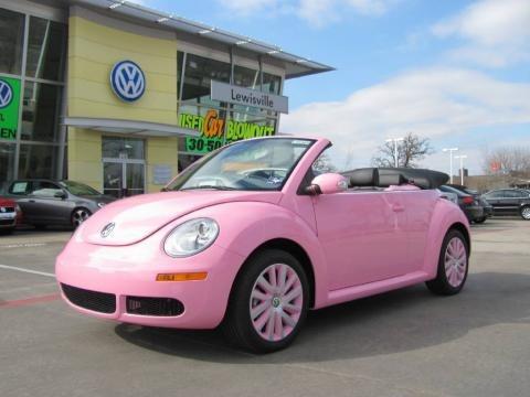 volkswagen beetle 2009 pink. Custom Pink Volkswagen New