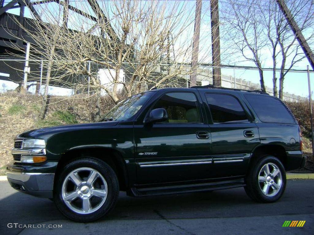 2002 Forest Green Metallic Chevrolet Tahoe Lt 4x4 24493139