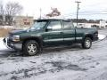 2001 Medium Green Pearl Metallic Chevrolet Silverado 1500 LS Extended Cab 4x4  photo #1