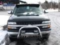 2001 Medium Green Pearl Metallic Chevrolet Silverado 1500 LS Extended Cab 4x4  photo #3