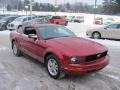 2007 Redfire Metallic Ford Mustang V6 Deluxe Coupe  photo #4