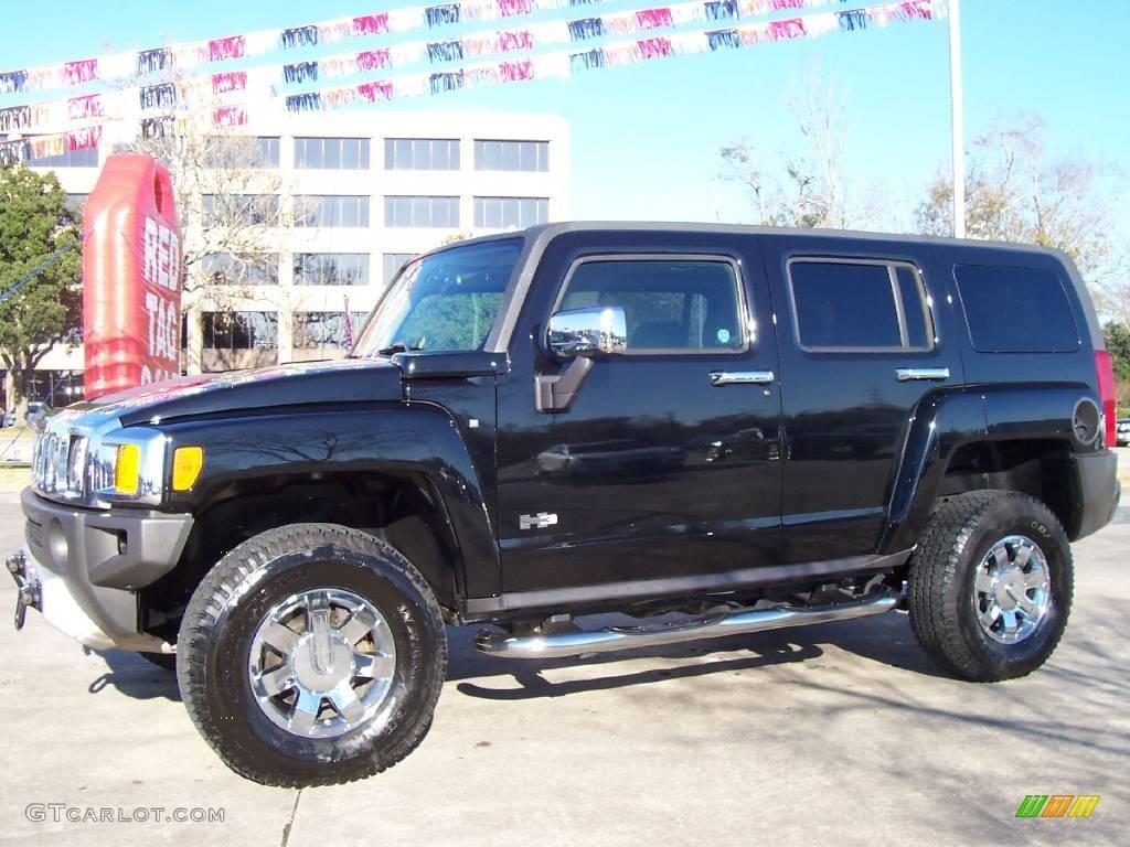 2008 black hummer h3 24493541 car color. Black Bedroom Furniture Sets. Home Design Ideas