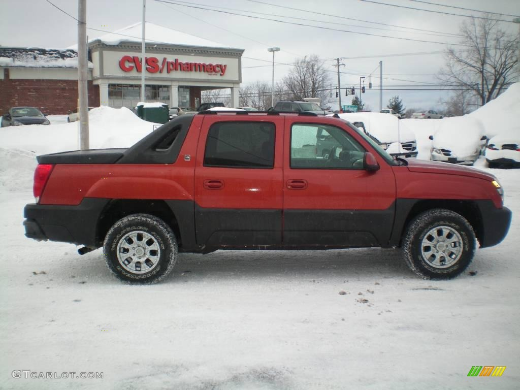 2003 avalanche north face edition 4x4 sunset orange metallic north face edition gray photo