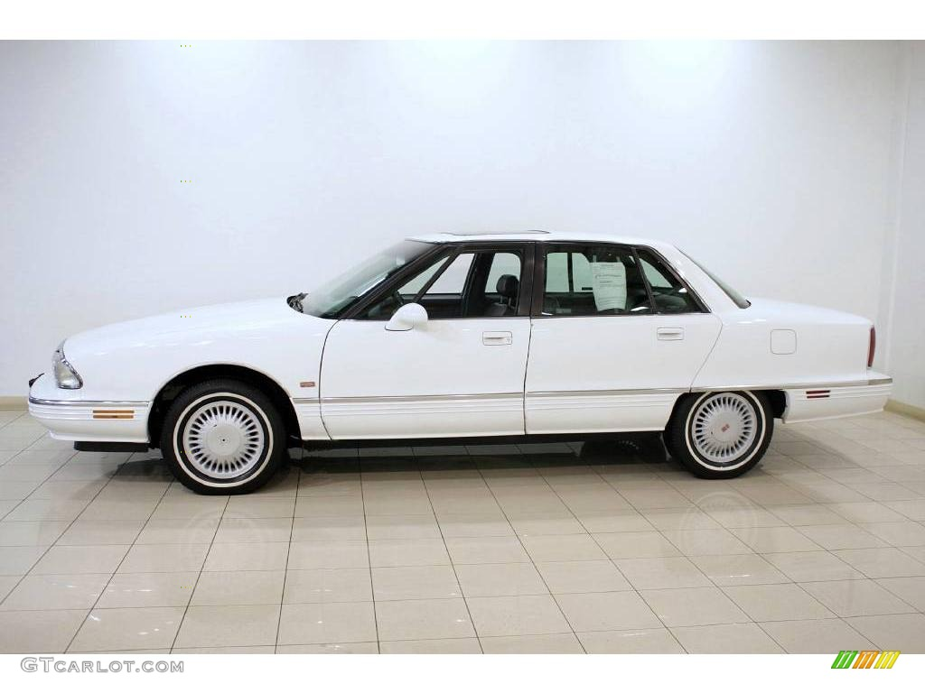1995 bright white oldsmobile ninety eight elite 24493765 photo 4 car color. Black Bedroom Furniture Sets. Home Design Ideas